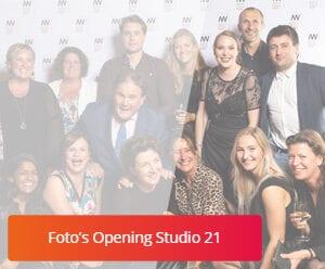 DMW in Beeld - Fotos opening studio 21